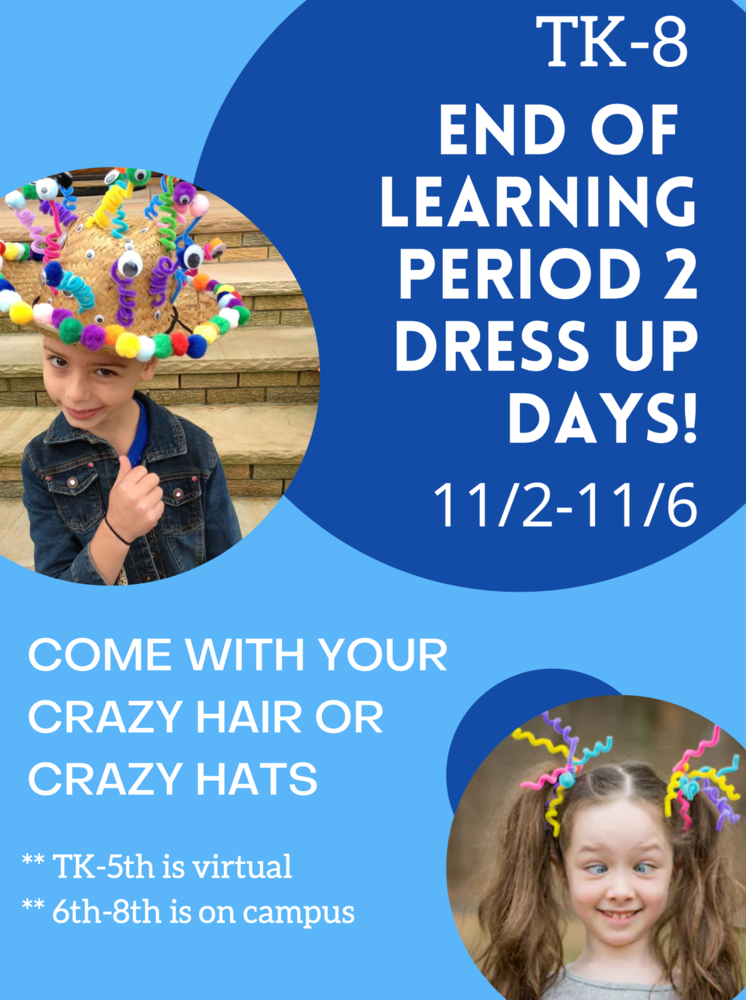 TK-8 Dress Up Days!